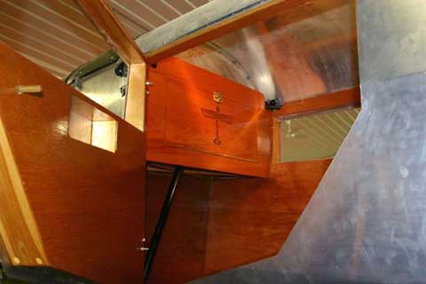 Cabin of Boeing 40