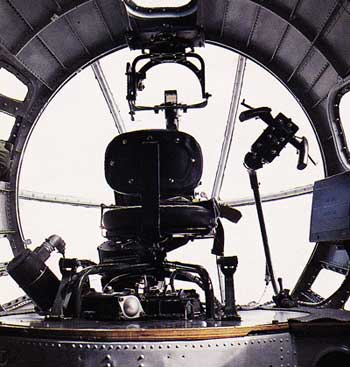 Bombadier's Seat of the Boeing B-17