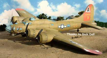 B 17 Flying Fortress Aircraft