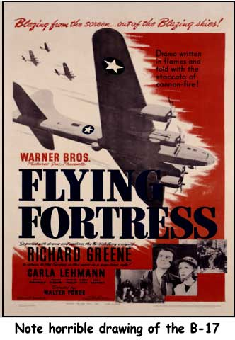 B-17 Movie Poster-terrible