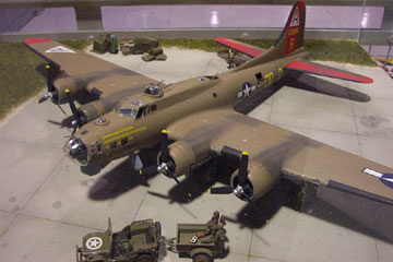 B-17 World War II 2 Bomber Boeing Model