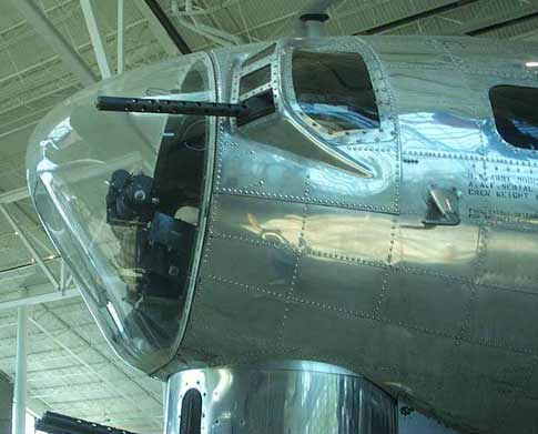 Evergreen B-17 nose Boeing B-17 Flying Fortress B17