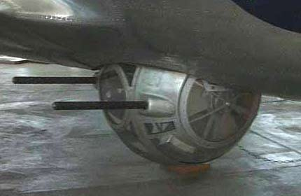Boing B17 Evergreen B-17 turret