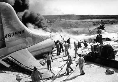 Superfortress Crash