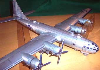 Boeing B-29 Superfortress Super Fortress World War II 2 ww2 wwii Bomber Model