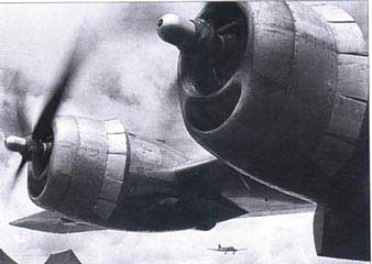 Boeing B-29 Superfortress engines wwii world war ii