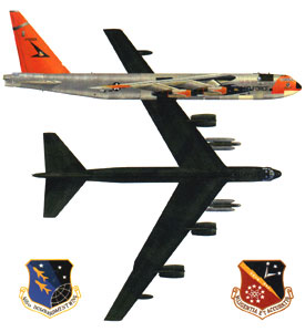 Boeing B-52 buff bomber stratofortress versions