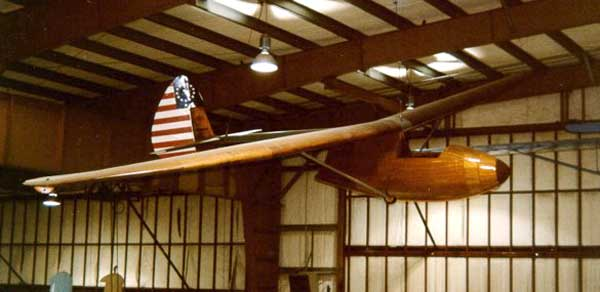 picture of the Bowlus Baby BA-100 Albatross Sailplane