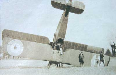 Bristol F2B Crash