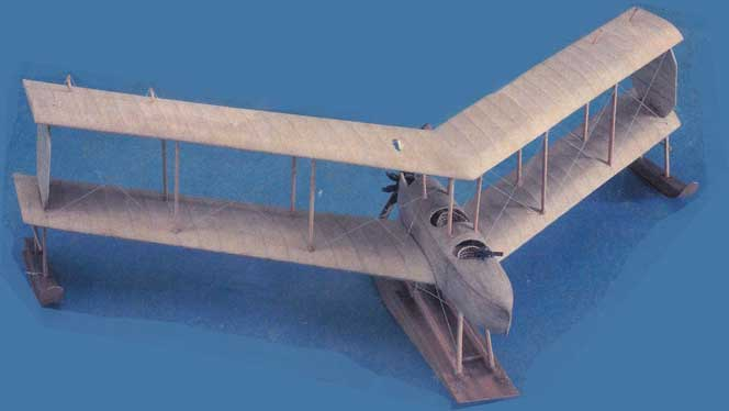 Burgess-Dunne wooden model