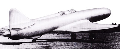 Caproni Campini N.1 Right Side