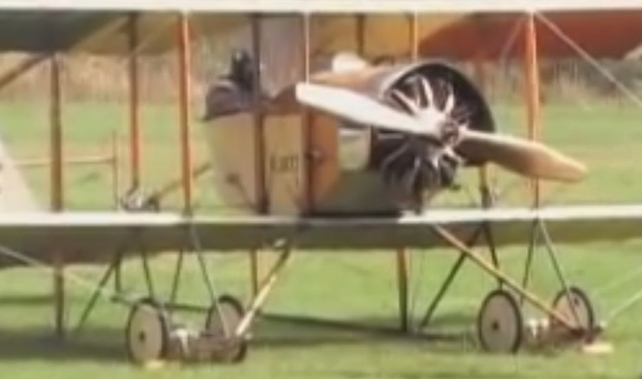 Caudron GIII preparing for a takeoff