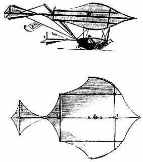 George Cayley's Flying Machine
