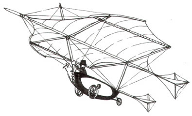 Cayley Flying Glider
