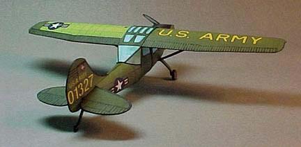 Cessna L-19 Birddog paper model