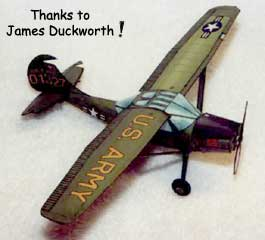 Cessna Bird Dog by James Duckworth model