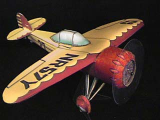 1933 Cessna CR-3 Racer paper model