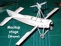 Cierva C-4 Autogyro mock up