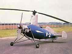 photo for the The Weir W-2 Gyroplane paper model