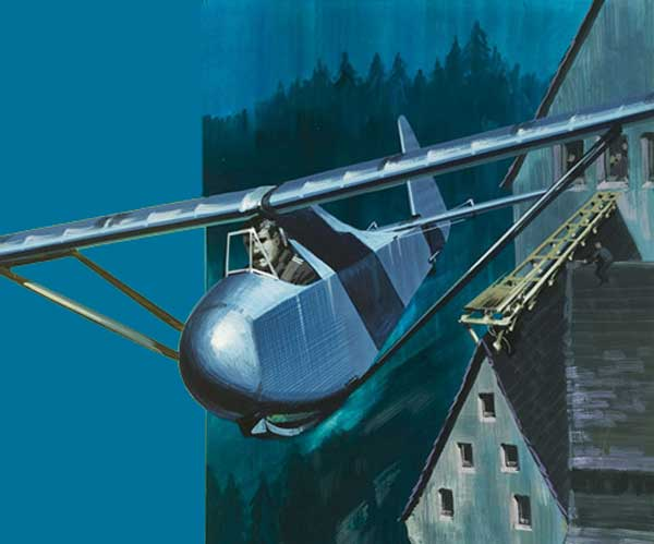 Colditz Escape Glider Aircraft