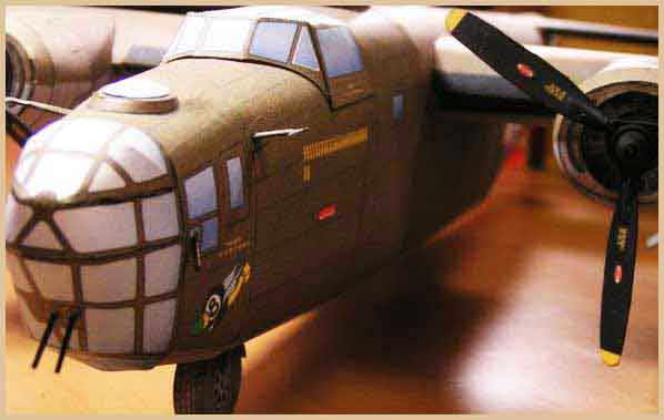 B-24 WWII Liberator Heavy Bomber