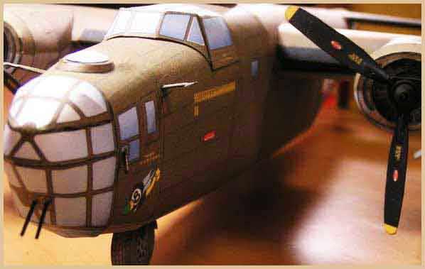 B-24 WWII Liberator Heavy Bomber