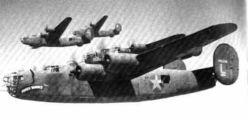B-24 Liberator Consolidated USAF USAAF us army air corps