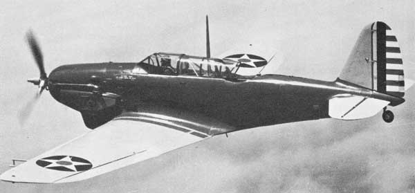 Consolidated P-30 in flight