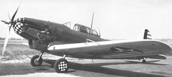 Consolidated P-30 Parked