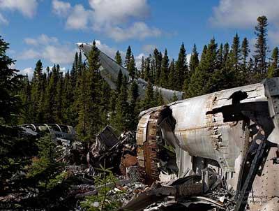 Convair B-36 Peacekeeper Crash  B36 Crash