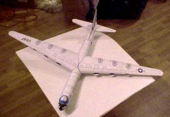 Convair not Boeing B-36 peacemaker bomber cold war  almost finished