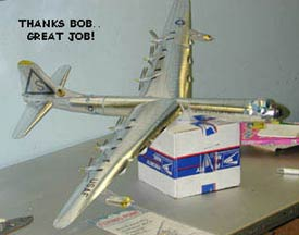 history historic historically Convair B36 peacemaker bomberBob-B-36