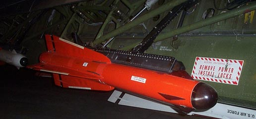 F-102 weapons