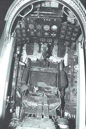 Convair XFY-1 Pogo Cockpit