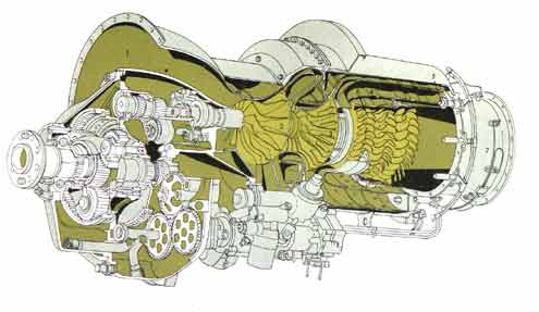 Allison Turboprop Engine for Convair Pogo Experimental Aircraft