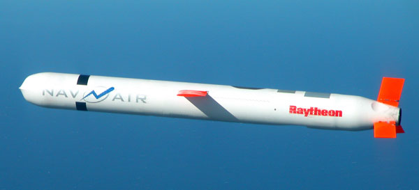 Tomahawk Cruise Missile paper model