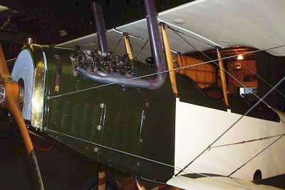 Curtiss Jenny in the Owls Head Museum