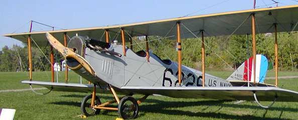 Curtiss jenny maintained