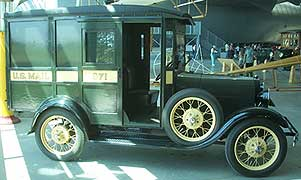 us mail truck model t van usmail