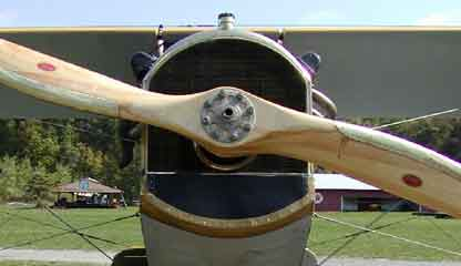 Close Up of the prop of the mail jenny