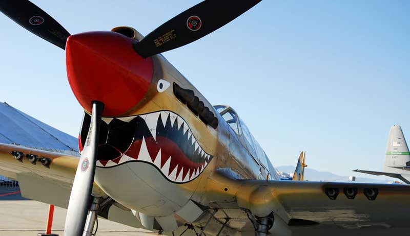 The Curtiss-P40-Warhawk