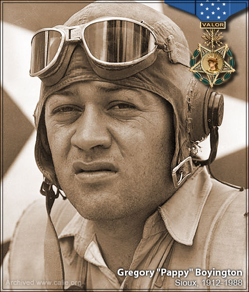 Photo of aviator Pappy_Boyington