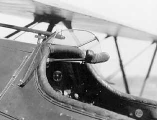 Cockpit image curtiss hawk p6e p-6e