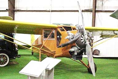 Curtiss Robin in Museum