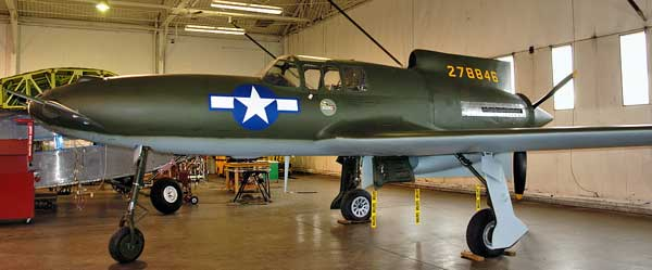 Curtiss XP-55 Ascender Museum