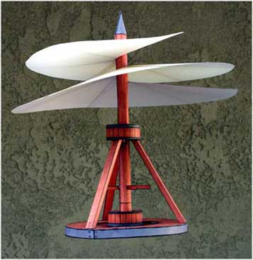 DaVinci Aerial Screw model