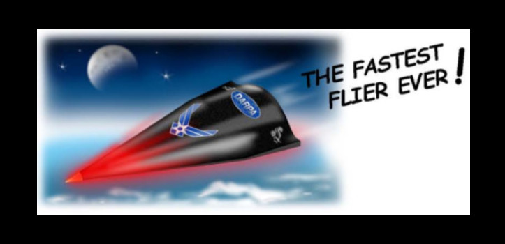 DARPA HTV-2 Hypersonic aircraft paper model