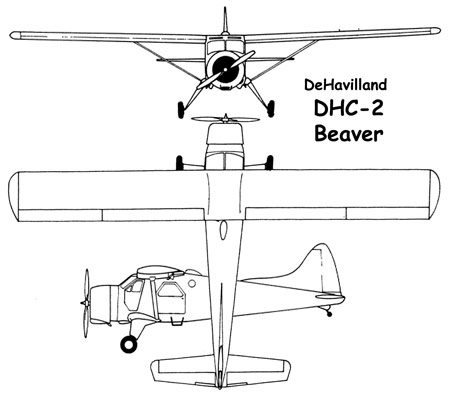 3 View of the de Havilland Beaver