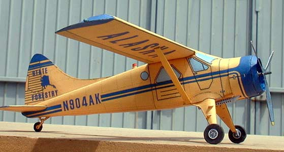 DeHavilland Beaver model