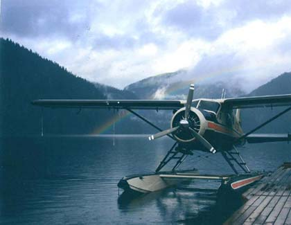 Dehavilland beaver on floats